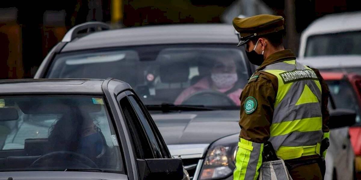 Balance de Carabineros: más de 2.800 personas fueron privadas de libertad en la última jornada