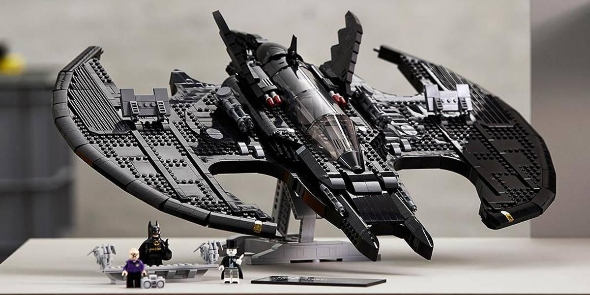 LEGO celebra el Batman Day revelando nuevo set de la batinave