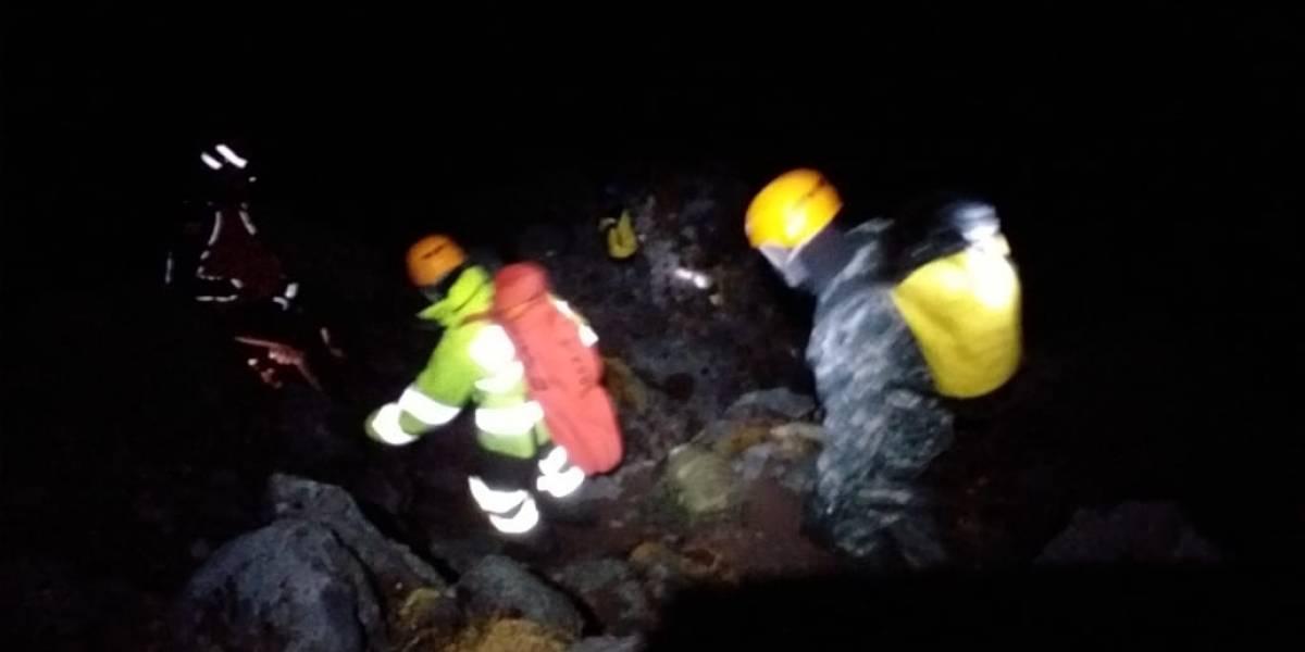 Dos guías fallecieron tras deslave en el cerro Cotacachi