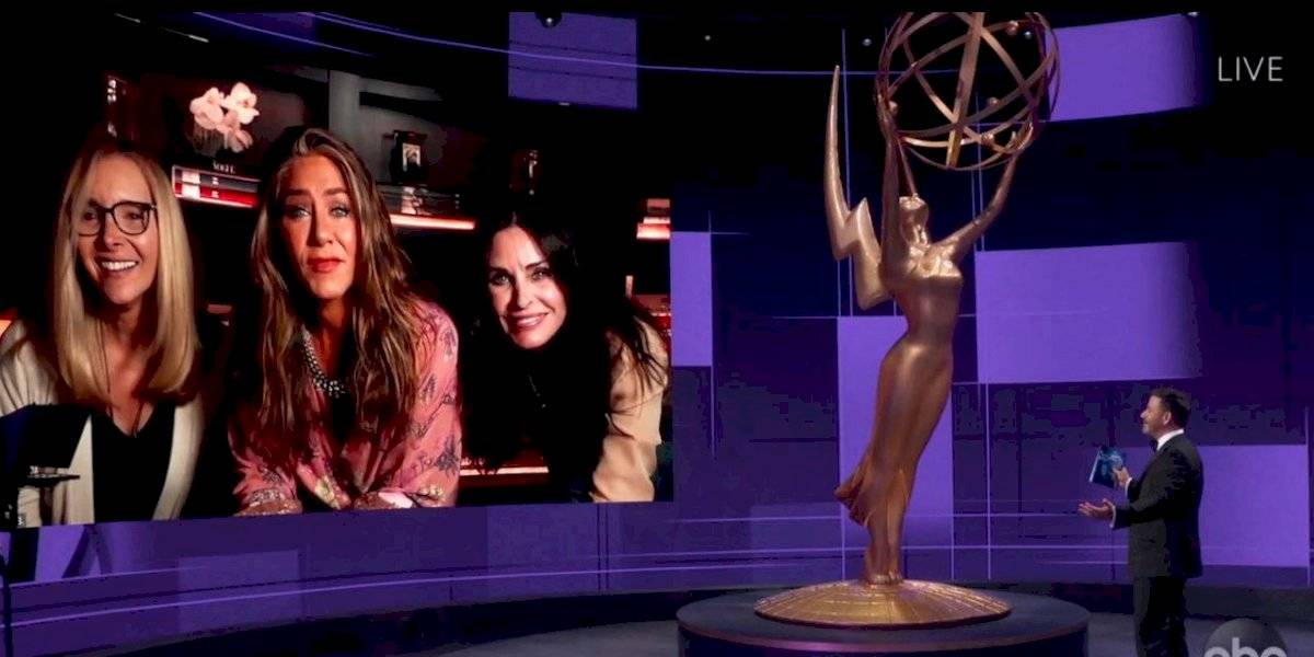 Reencuentro de elenco de 'Friends' impacta en los Emmy Awards 2020