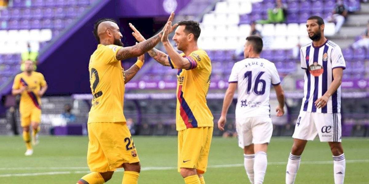 Messi se despide de Arturo Vidal con emotivo mensaje