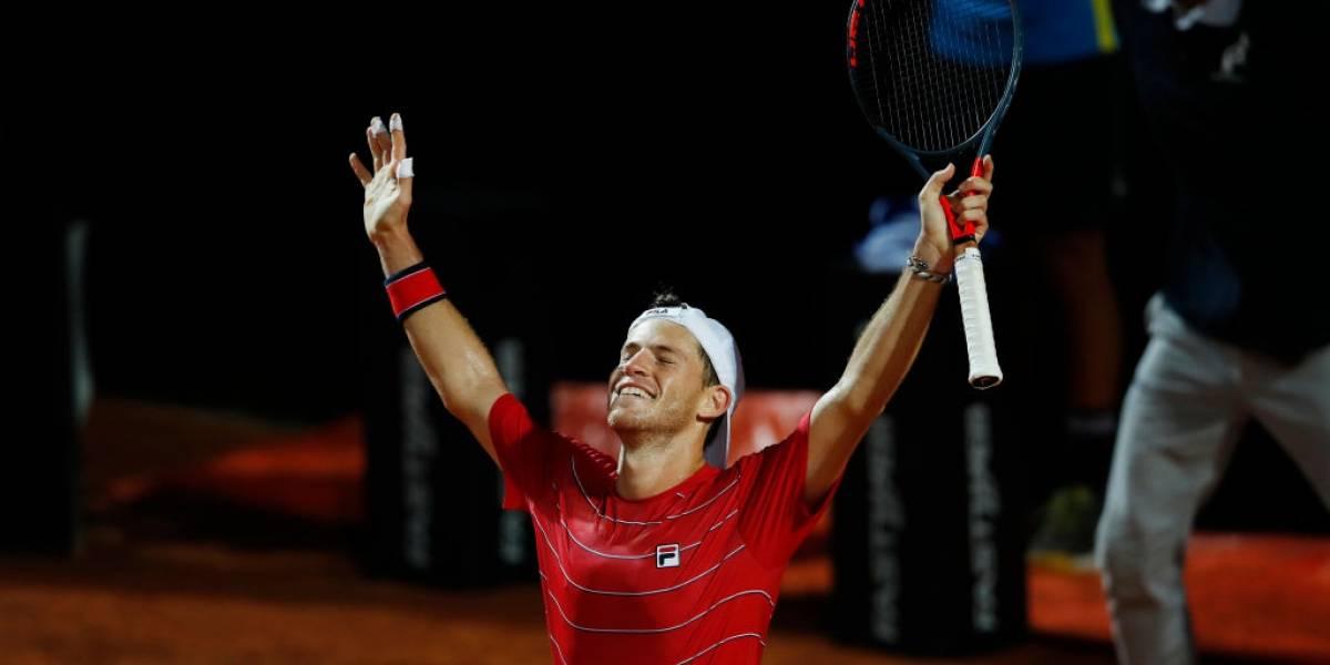 Djokovic enfrentará a Diego Schwartzman en la final de Roma