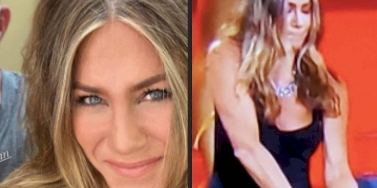 ¡Fuego en los Emmy 2020! Jennifer Aniston salva la noche con un extintor
