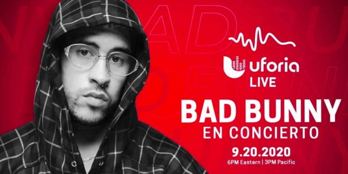Arranca concierto virtual de Bad Bunny