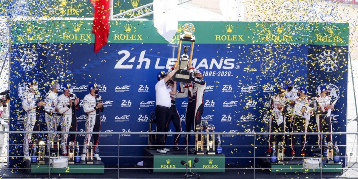 El Toyota 8 gana las 24 Horas de Le Mans por tercer año