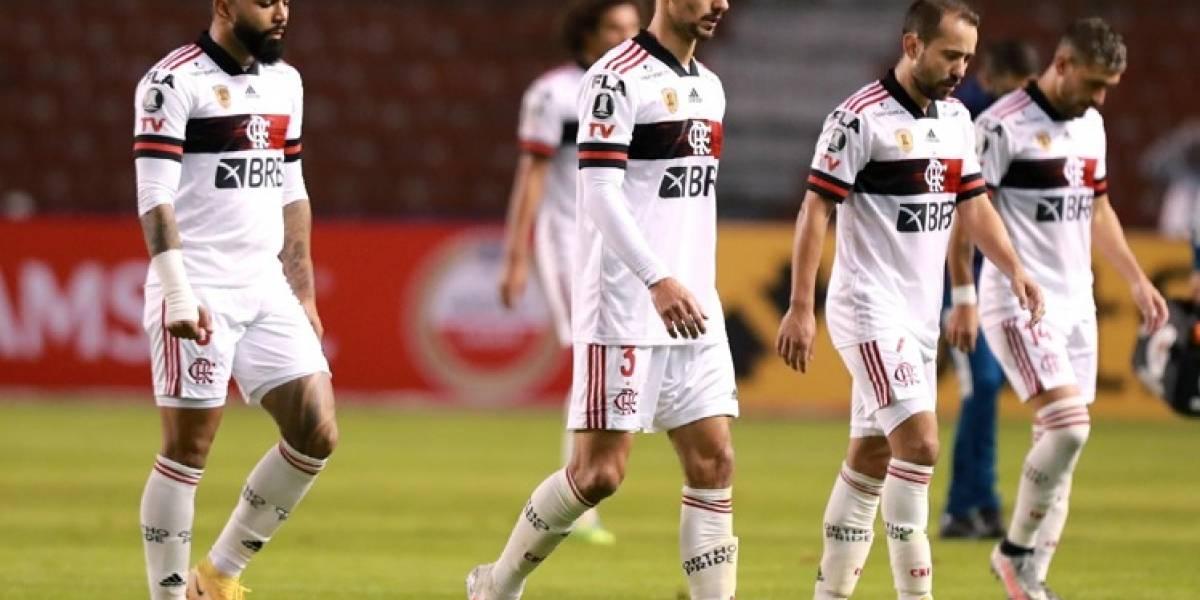 El partido de Barcelona SC vs Flamengo podría suspenderse por dos fuertes razones