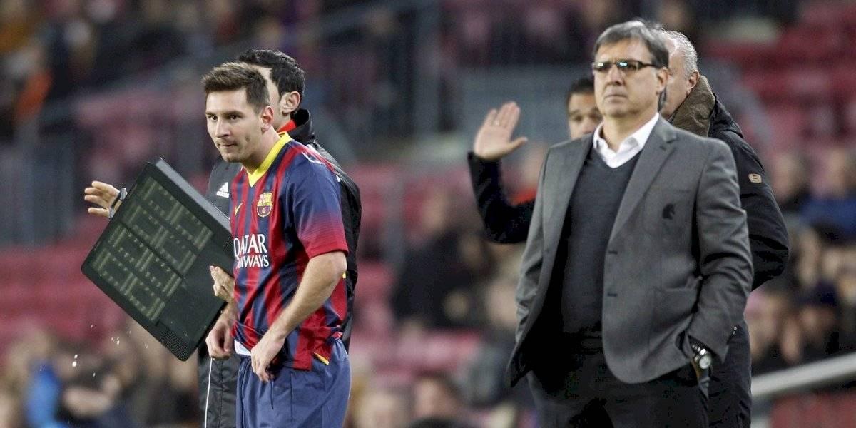 "La particular frase del ""Tata"" Martino a Lionel Messi que revela el poder del astro argentino en el Barcelona"