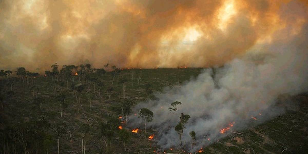 Humo incendios en Brasil se extienden más de 4 mil kilómetros y afecta a cinco países