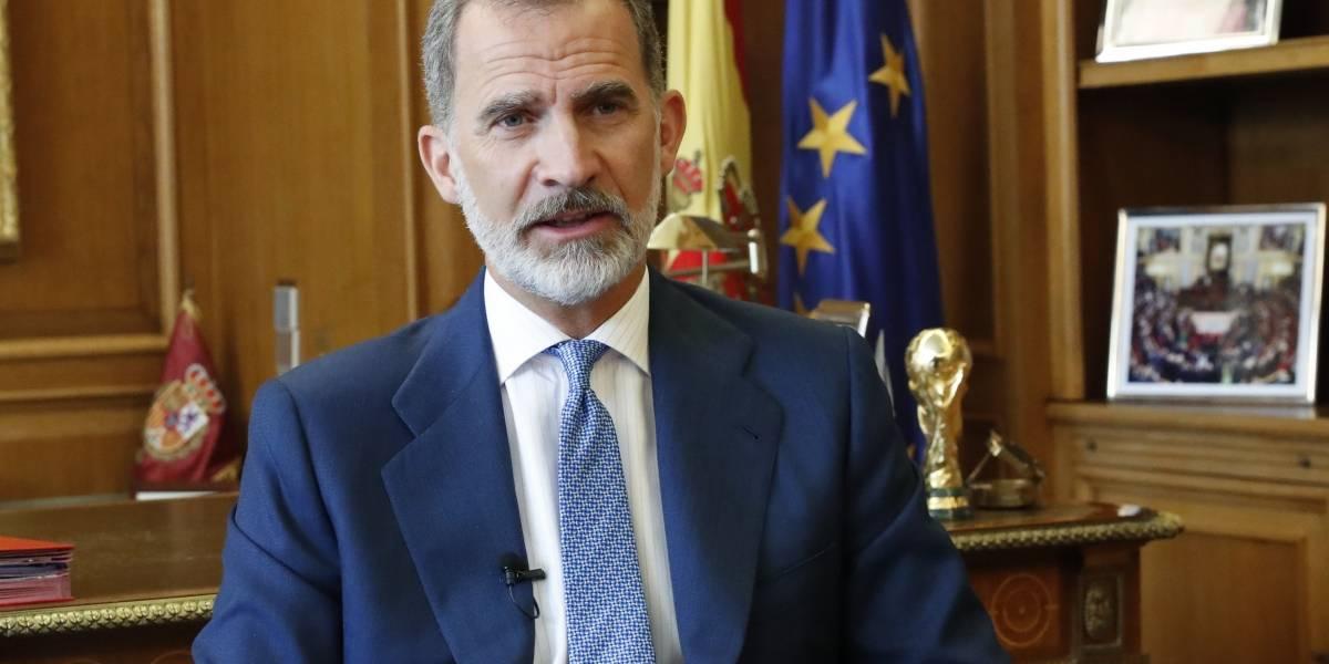 """Rey Felipe.- VÍDEO: El Rey subraya el compromiso de España con la ONU, que ha sido """"puesta a prueba"""" por la pandemia de Covid-19"""