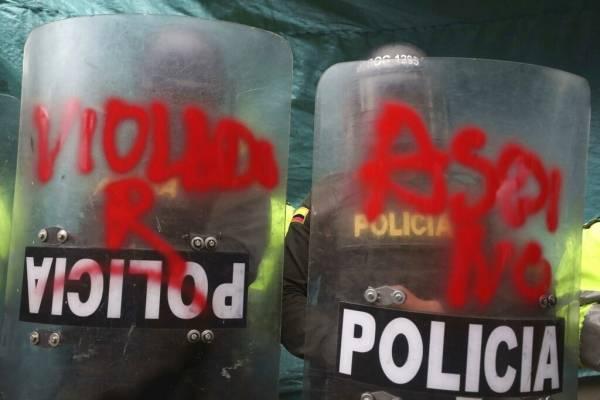 Justicia de Colombia ordena suspender uso de lacrimógenas contra manifestantes