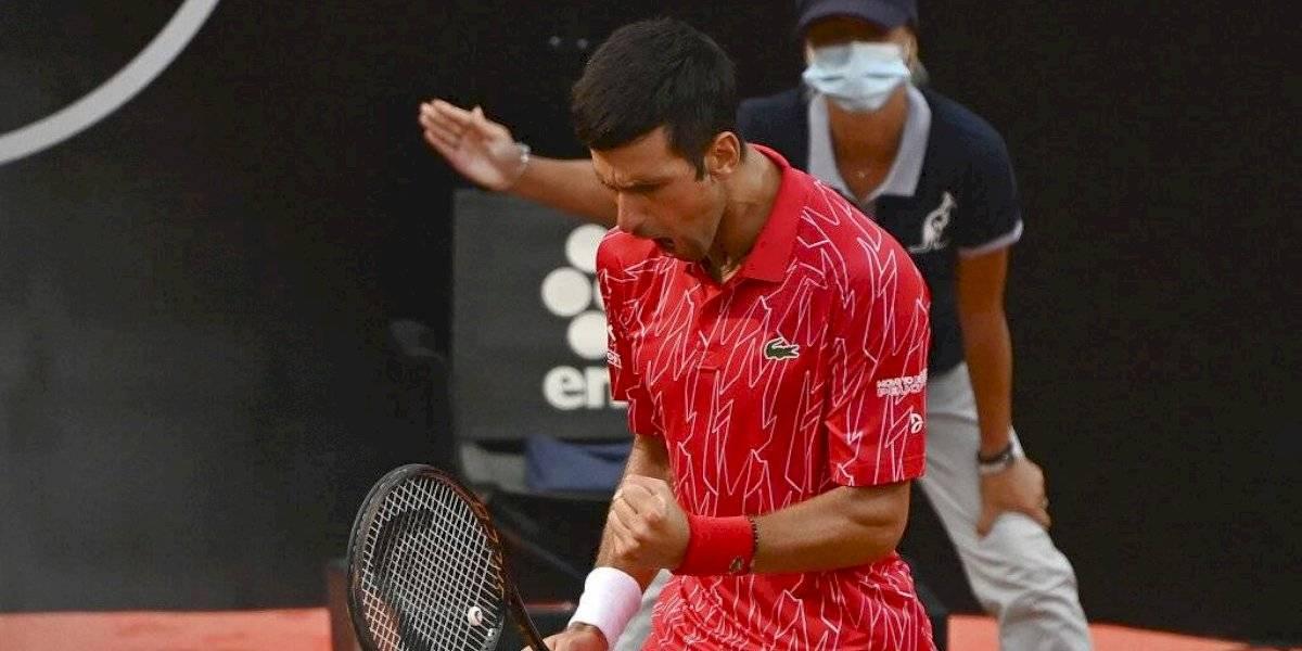 Djokovic se consagra campeón en el Abierto de Italia