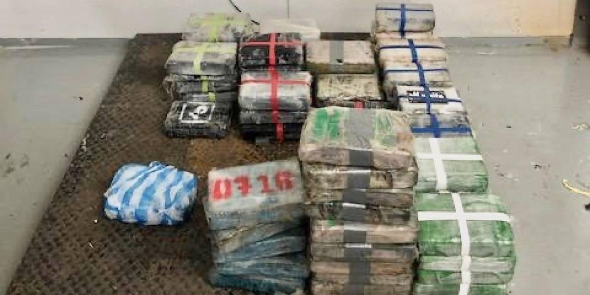 Patrulla Fronteriza y la Policia incautan 87 kilos de cocaína encontrada en Loíza