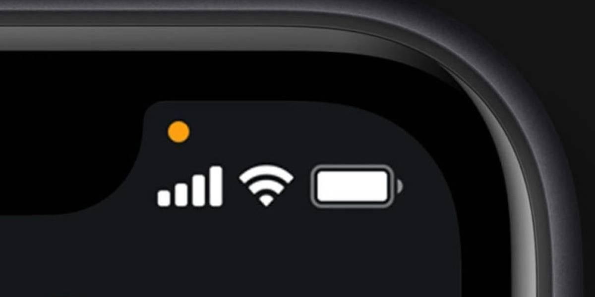 iPhone: ¿qué significa el punto naranja de iOS 14? También hay uno verde