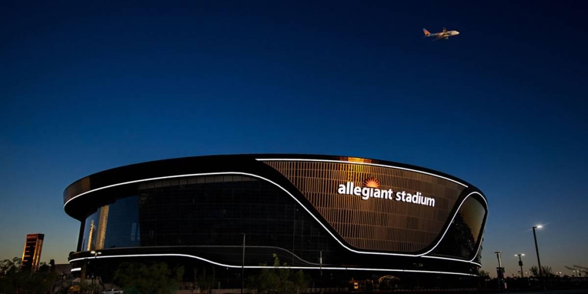 Así es el nuevo estadio de los Raiders de Las Vegas