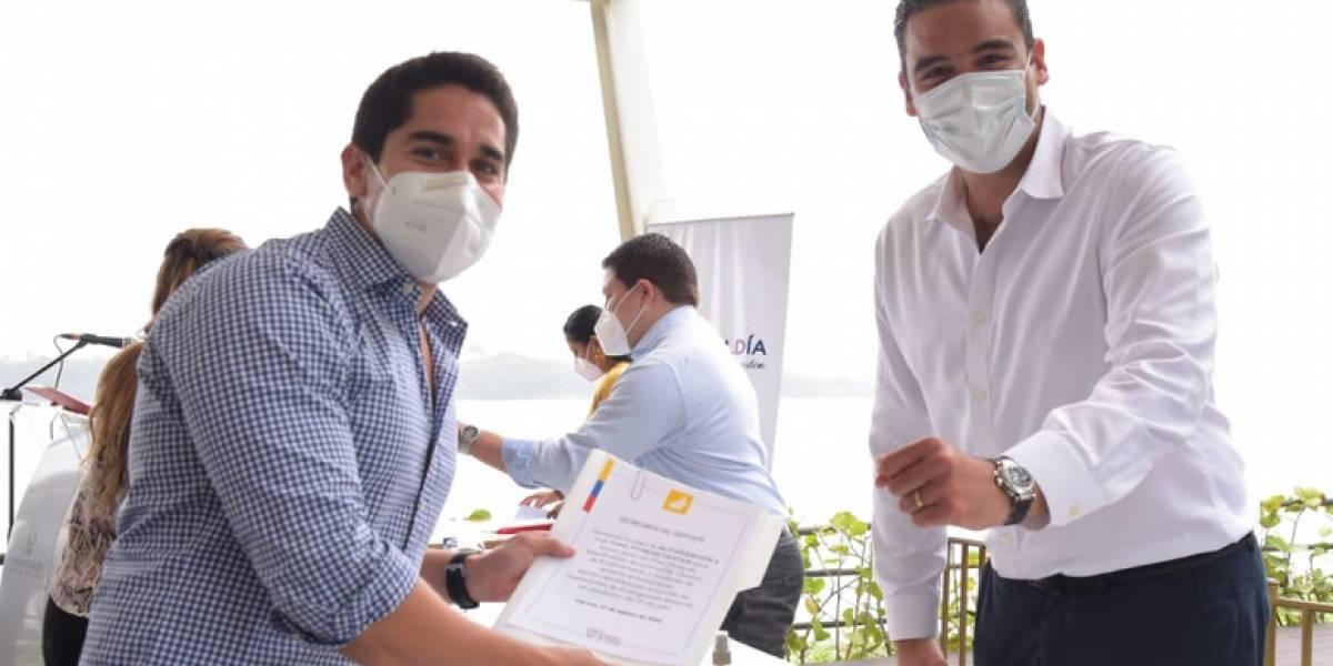 Salud y seguridad son la prioridad en Samborondón, según su alcalde Juan José Yúnez