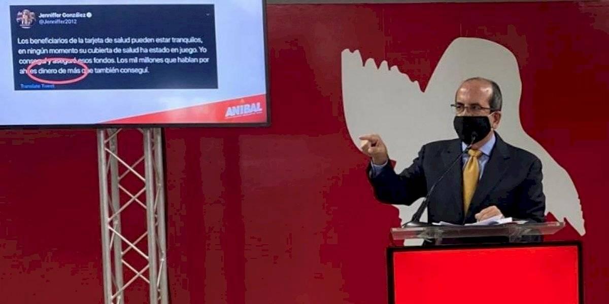 "Acevedo Vilá culpa a Jenniffer González y a  ""guerra interna"" del PNP por pérdida de $1,000 millones de Medicaid"