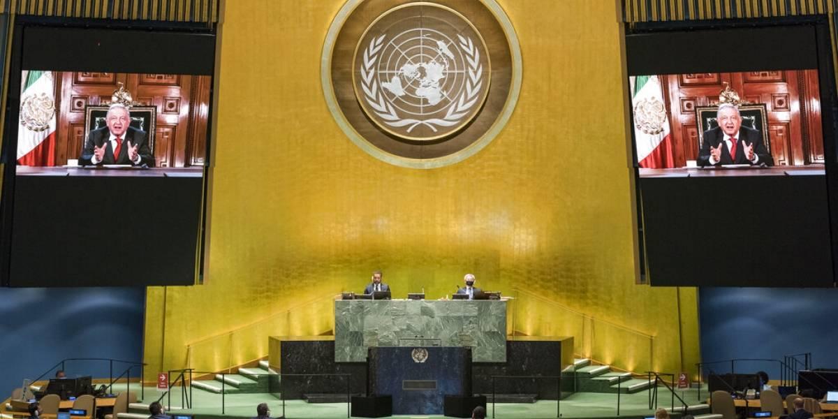 ¿Qué dijo López Obrador a la ONU? Este es el mensaje completo