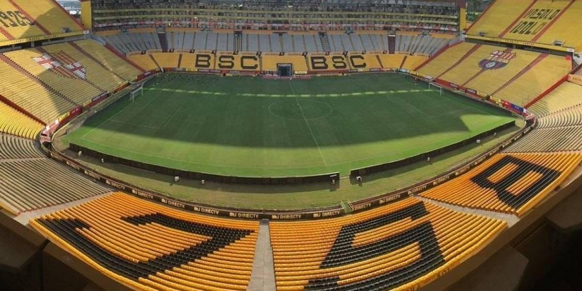 COE de Guayaquil informa que estadio Monumental está habilitado