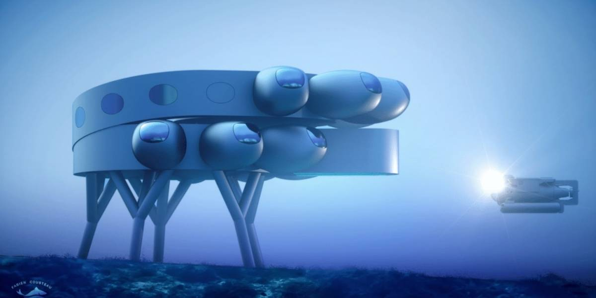 Proteus busca convertirse en la primera 'estación espacial' submarina