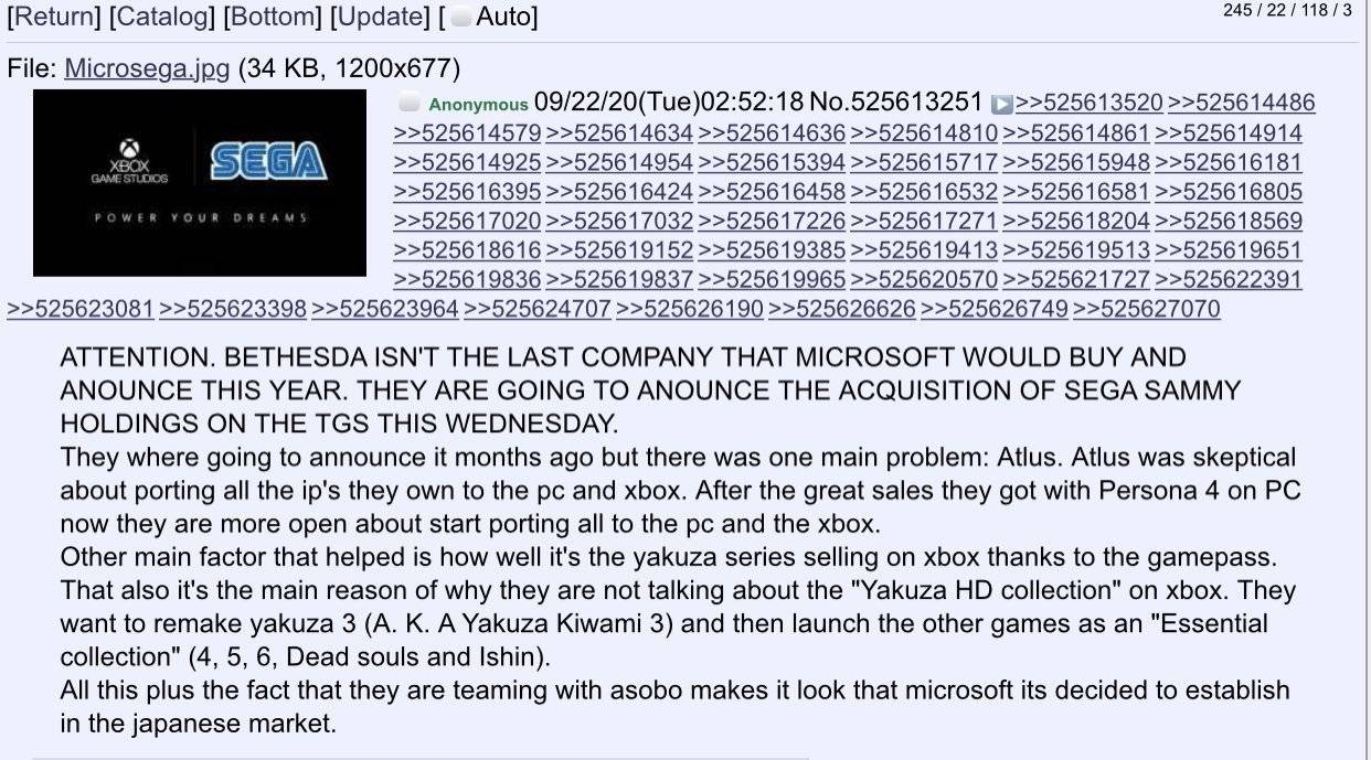 Microsoft Sega