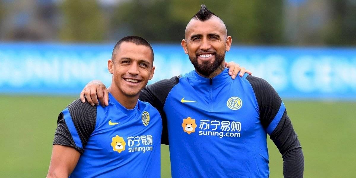 ¡Juntos son dinamita! La historia de éxitos de Vidal y Alexis que intentarán repetir en el Inter