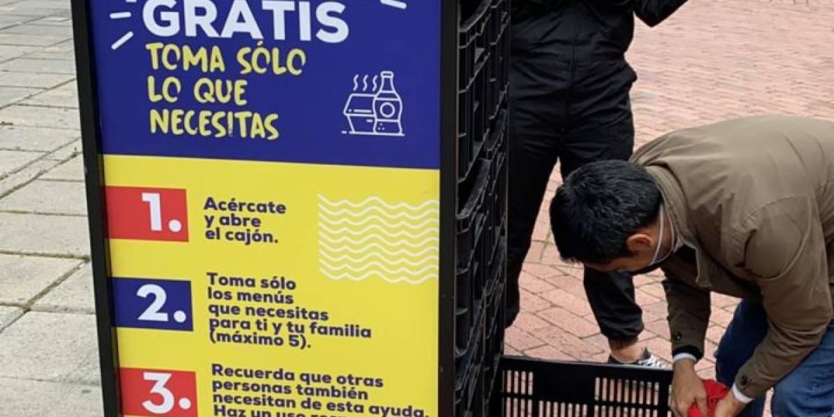 Menú Solidario, una estrategia para alimentar a los menos favorecidos en Bogotá