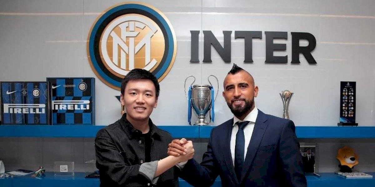 Arturo Vidal fue presentado oficialmente como nuevo refuerzo del Inter de Milán