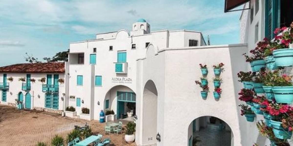 """¿Lo conoce? Este es """"el Santorini colombiano"""" que enamora con su belleza arquitectónica"""