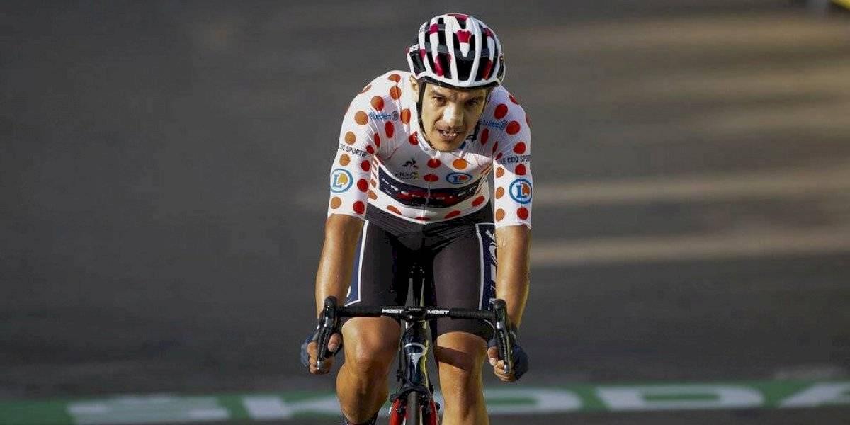 Richard Carapaz escala posiciones en el ranking de la Unión Ciclista Internacional