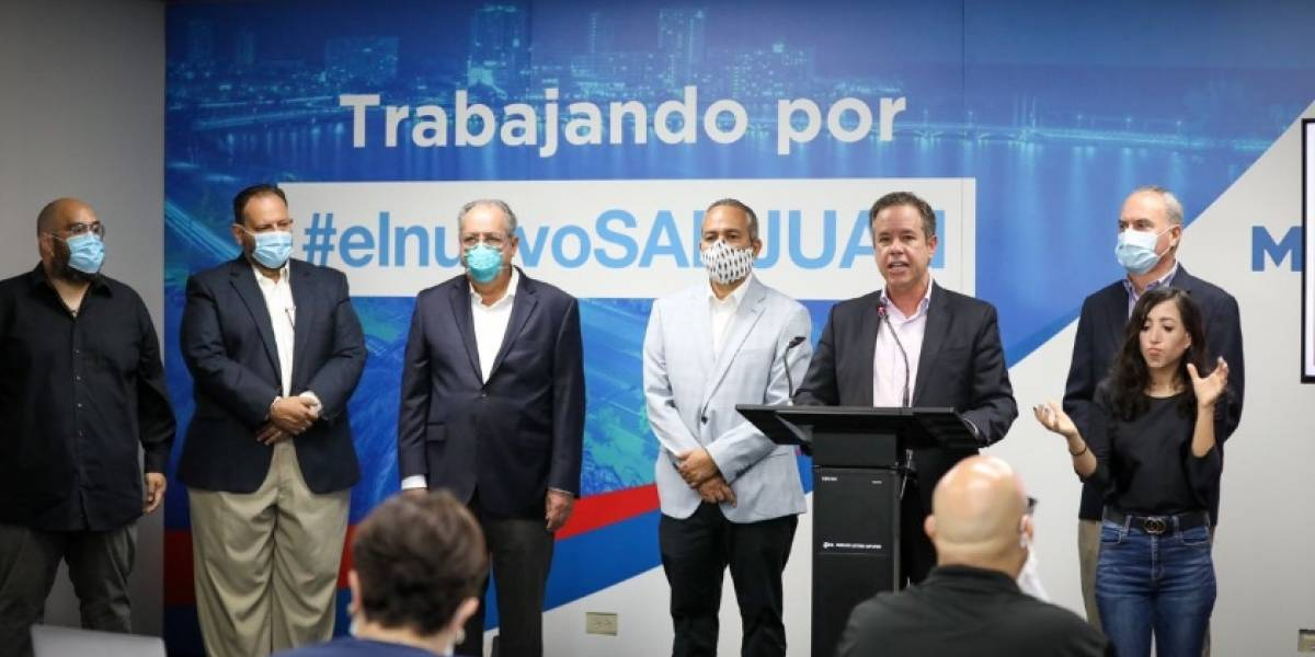 Miguel Romero promete limpiar San Juan y reparar carreteras e iluminación en 100 días