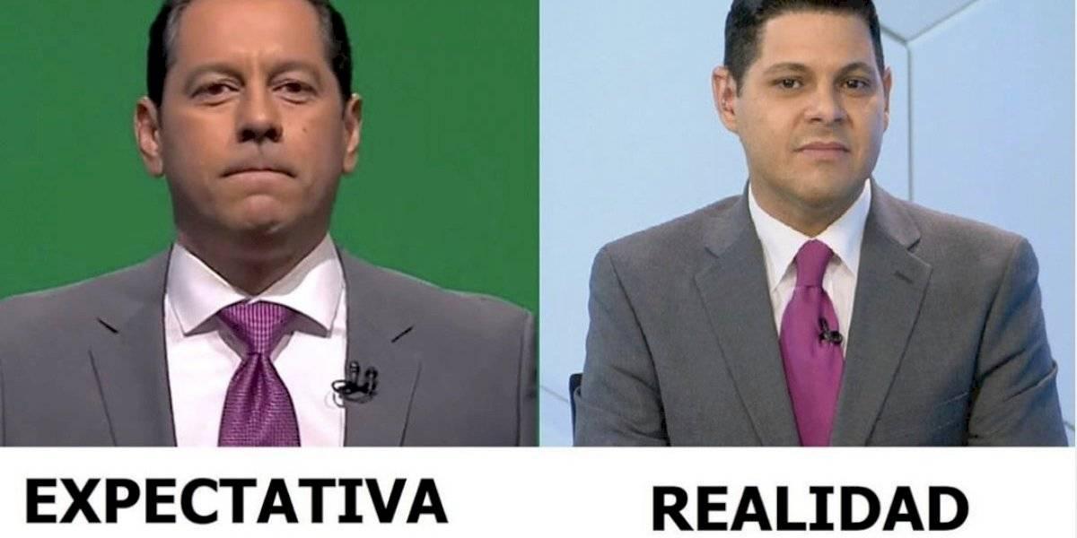 """Se vacilan a Jorge Gelpí por ir al noticiario """"disfrazado"""" de Juan Dalmau"""