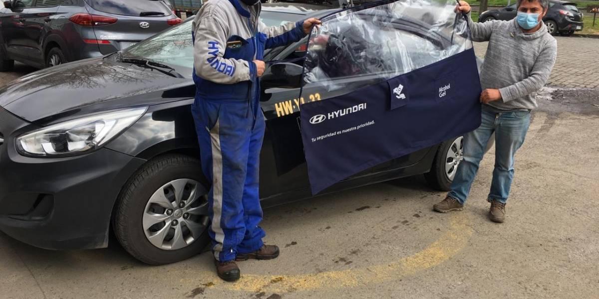 Hyundai lanza campaña de prevención de contagios para los taxis de su marca