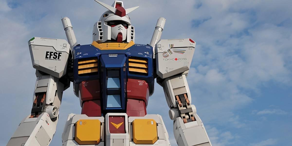 Robot gigante japonés logró dar sus primeros pasos en la vida real
