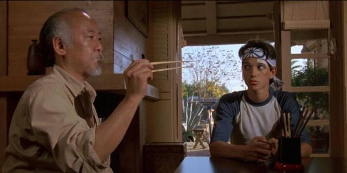 """Ralph Macchio revela por que los productores """"Karate Kid"""" no querían que Pat Morita diera vida al Señor Miyagi"""