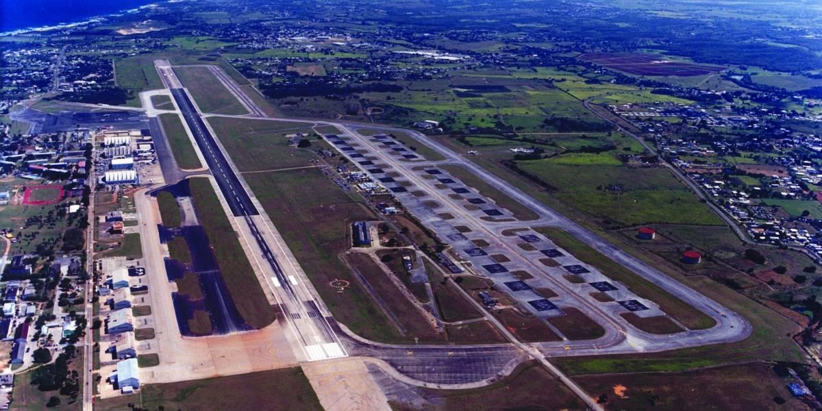 Atacan a agente en el Aeropuerto Internacional Rafael Hernández