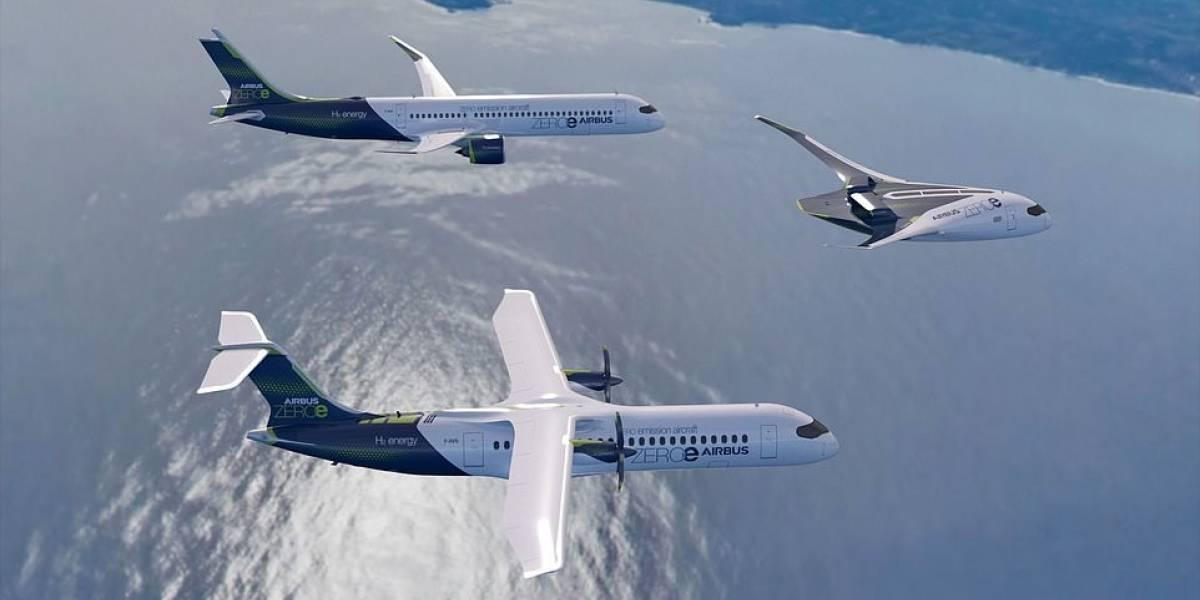 Así será la espectacular flota ecológica del futuro, según Airbus