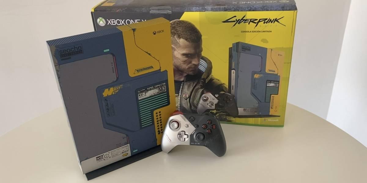 Cyberpunk 2077: mira nuestro unboxing de la Xbox One X edición especial del juego