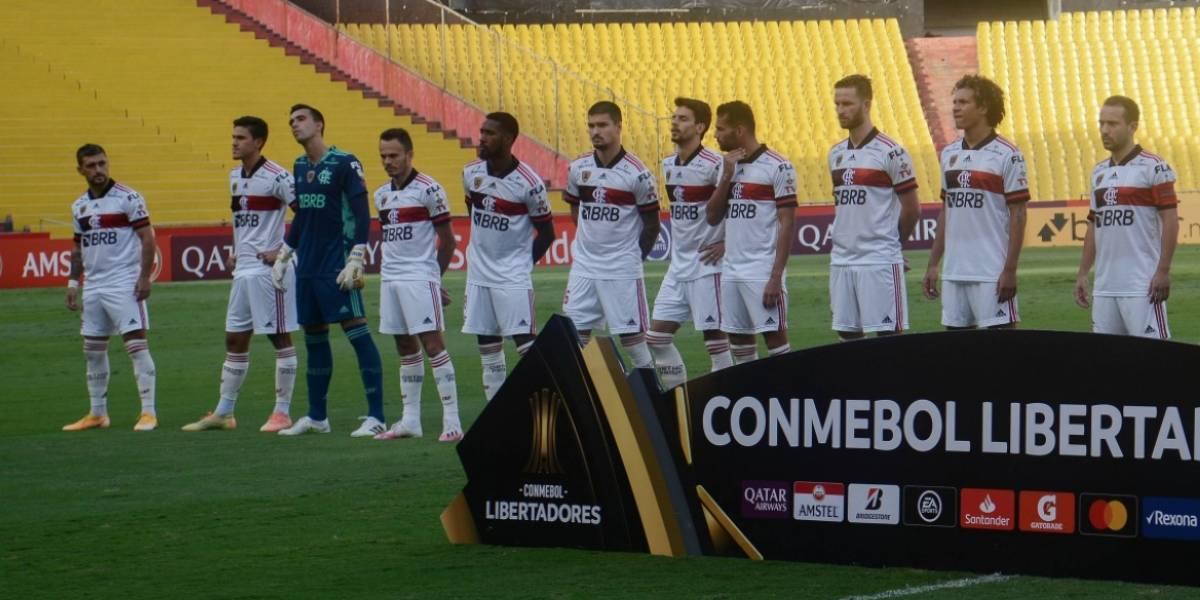 Nuevos casos positivos por COVID-19 en Flamengo que eliminó a Barcelona SC de la Copa Libertadores