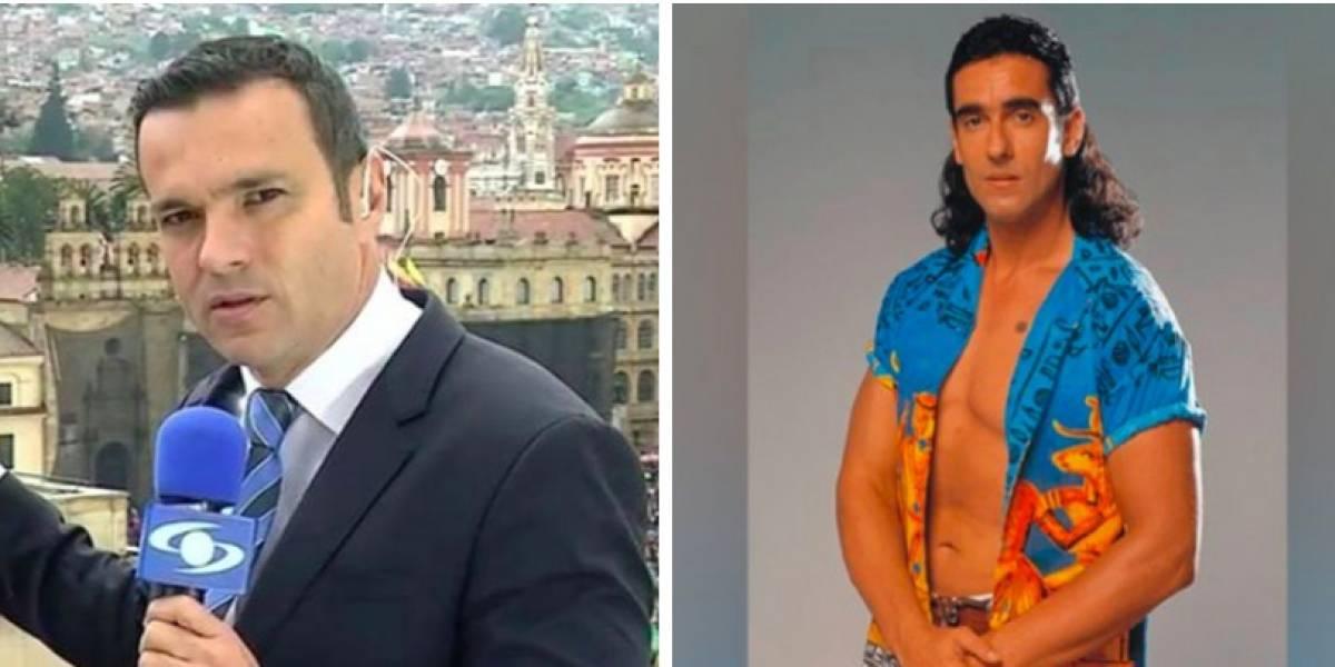 Juan Diego Alvira es para risas por su pinta, igualita a la de 'Pedro el escamoso'