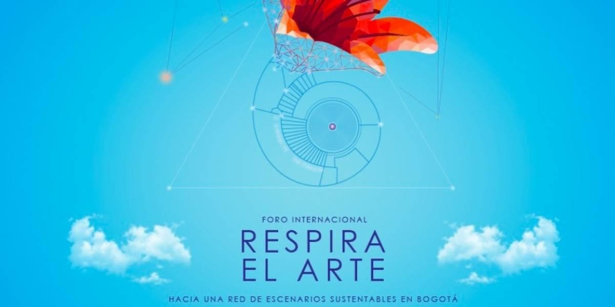 Idartes le apuesta al medio ambiente con el 'Foro internacional respira el arte'