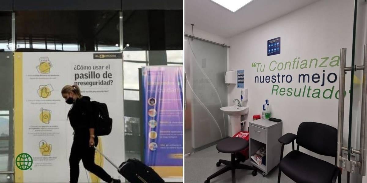 El aeropuerto El Dorado ahora cuenta con laboratorio de pruebas de COVID-19