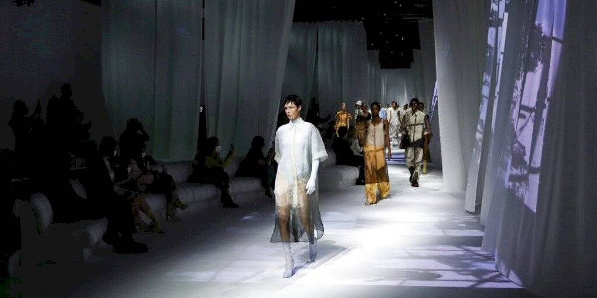 Inauguran de forma híbrida la Semana de la Moda en Italia