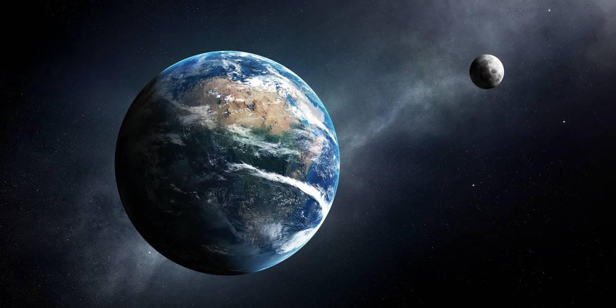Una pequeña Luna que se mueve por el espacio podría quedar atrapada en la gravedad de la Tierra