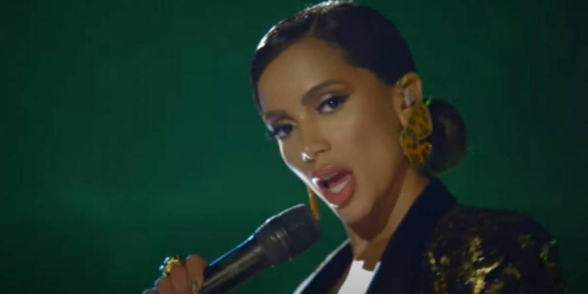 Anitta canta no programa de Jimmy Fallon e divulga nome de novo álbum