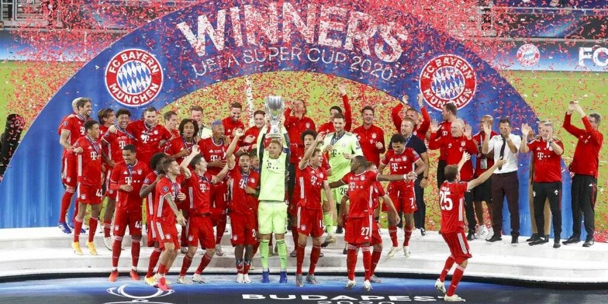 Con la cabeza de Martínez y las manos de Neuer: Bayern conquista la Supercopa