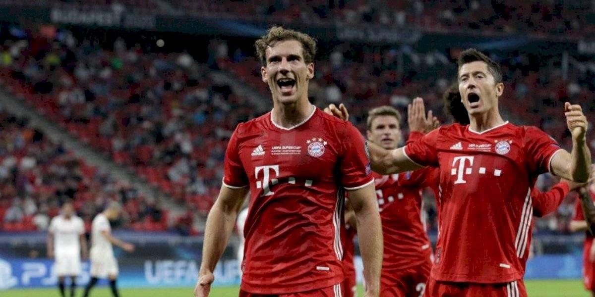 ¡Súper Bayern 🇩🇪! El campeón de Europa se quedó con la Supercopa ante un valiente Sevilla (2-1)