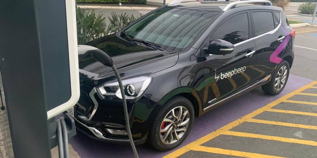 Carros elétricos para viajar