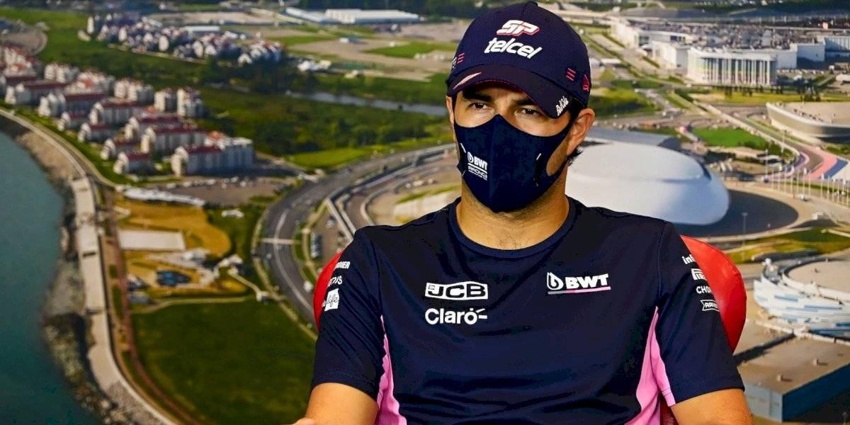 Sergio Pérez afirma que algunos miembros de su equipo le