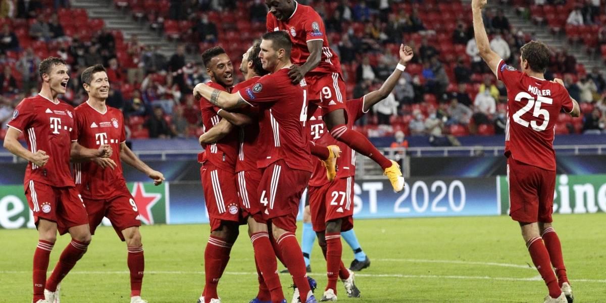 IMPARABLES: ¡El Bayern es el 'Supercampeón' de Europa!