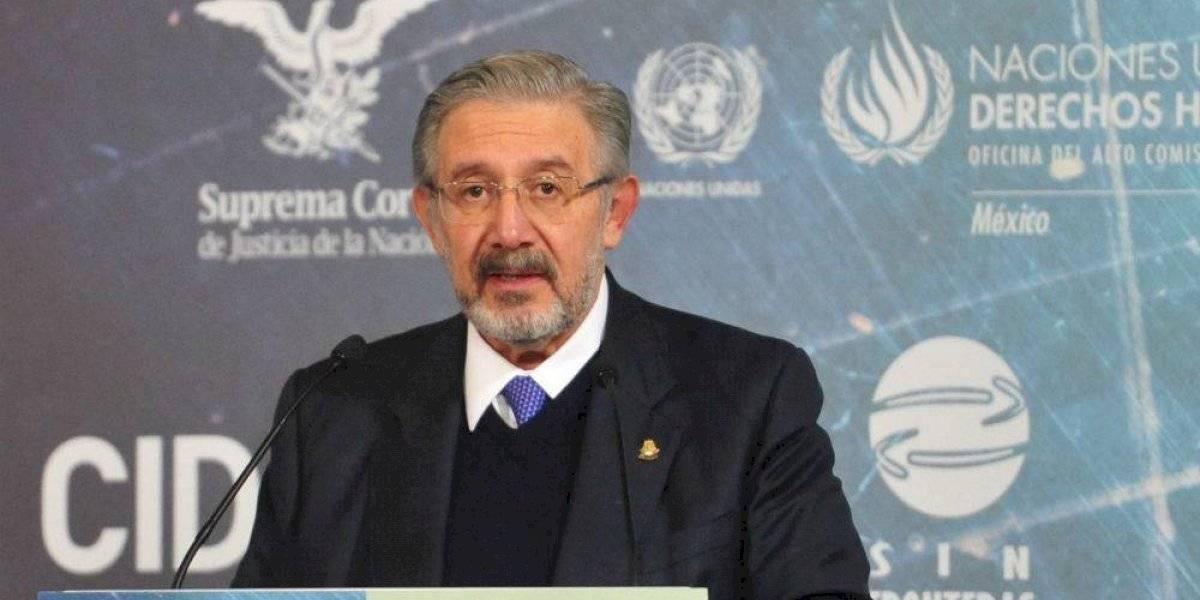 Aguilar, ministro cercano a Calderón que va contra juzgar a ex presidentes